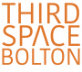 Thirdspace logo orange on white